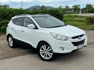 2011 Hyundai ix35 LM MY11 Highlander AWD White 6 Speed Sports Automatic Wagon Garbutt Townsville City Preview