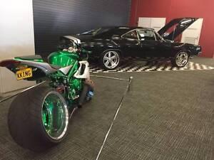 Triumph Daytona 675 Turbo 360 Tyre FR SIMMONS Peakhurst Hurstville Area Preview