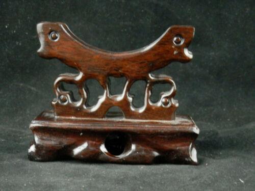 Chinese Wood Hand Made Bangle Stand