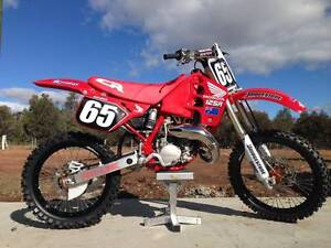 HONDA 1989 CR 125R GROUND UP RESTORATION  EVERY NUT BOLT & SEAL R Roma Roma Area Preview