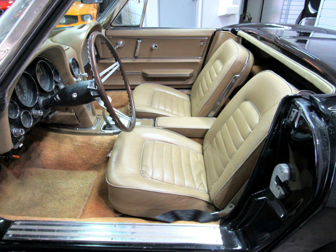1966 Black Chevrolet Corvette Convertible  | C2 Corvette Photo 8