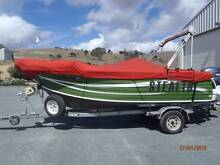 Quintrex 5.3m Topender 115hp, 4 stroke + Minn Cota 80lb electric Queanbeyan Area Preview