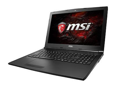 "MSI GL62M 7RD-032 15.6"" Intel i7-7700HQ 16GB RAM 128GB SSD+1TBHD GTX 1050 Laptop"