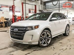 2012 Ford Edge SPORT AWD (4X4) **CUIR // TOIT// GPS// CAMERA **