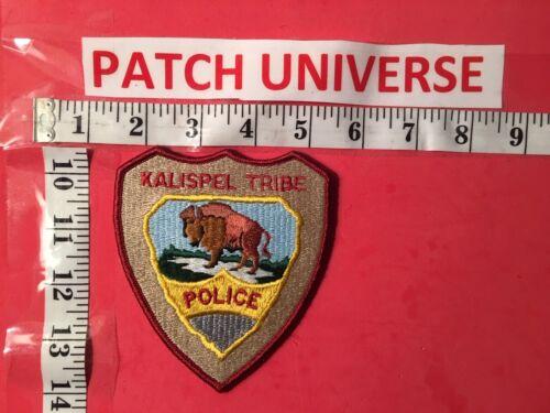KALISPEL  WA TRIBAL POLICE SHOULDER PATCH  Q033