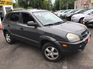 2007 Hyundai Tucson GL/ AUTO/ POWER GROUP/ ALLOYS/ RUNS WELL!