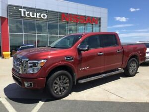 2017 Nissan Titan Platinum  389.99 B/W Tax in 0 Down OAC SPECIAL