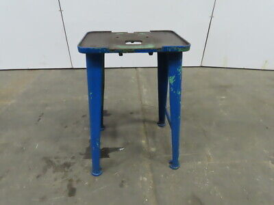 19x13 Vintage Industrial Cast Iron Die Drill Press Base Stand Table