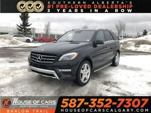 2014 Mercedes Benz M-Class ML550 4MATIC / Heated and Cooled Leat