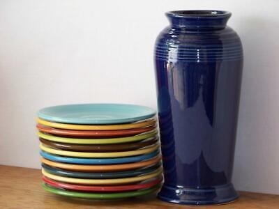 Fiesta® COBALT Post 86 Monarch Vase - Discontinued Item & Color