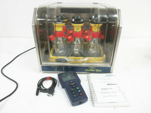 WTW OXITOP OXITOP-C 6 MEASURING HEAD & INCUBATOR CONTROLLER IS 6-Var ~ XYLEM A6