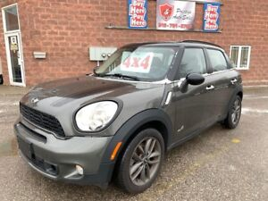 2013 Mini Cooper Countryman S/ALL4/CERTIFIED/WARRANTY INCLUDED