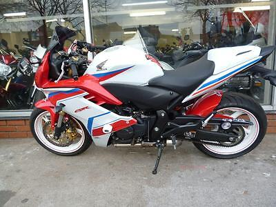 Honda CBR CBR600F 600cc Sports WHITE