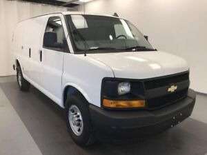 2017 Chevrolet Express 2500 1WT 2 PERSON VINYL SEATING, 60/40...