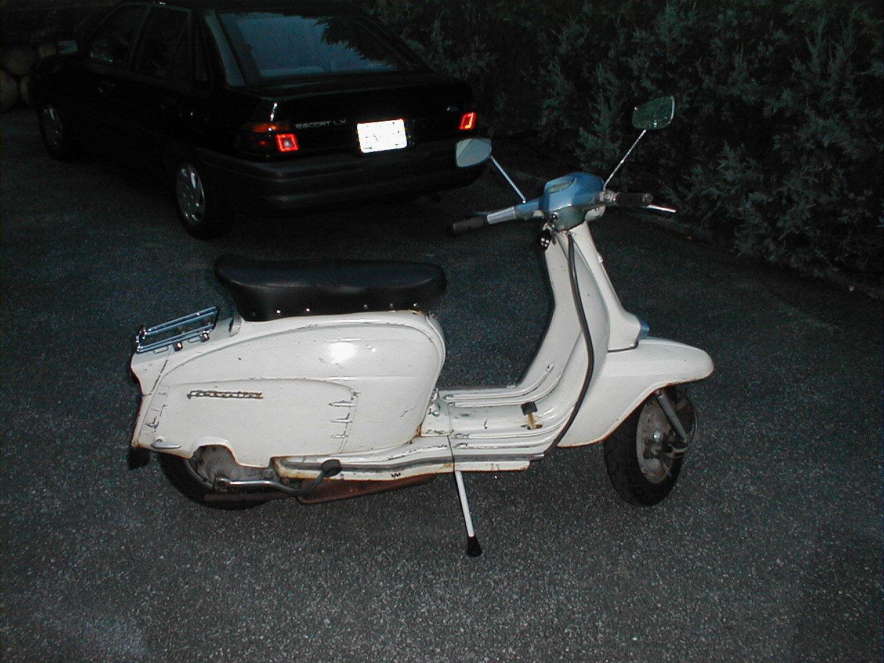 1965 Other Makes Lambretta TV175  1965 Lambretta TV175 Scooter - Used, Running, Registered