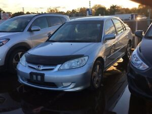 2004 Honda Civic Sdn Si- VEHICLE SOLD AS IS!!!!