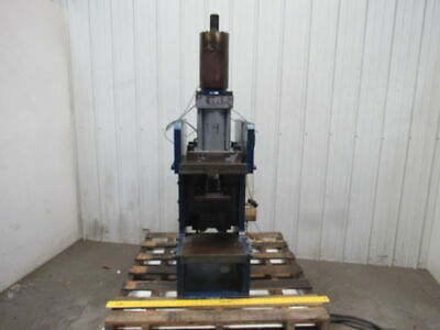 Hydraulic Guided C Frame Press 8 Stroke 6 Throat 12 Opening