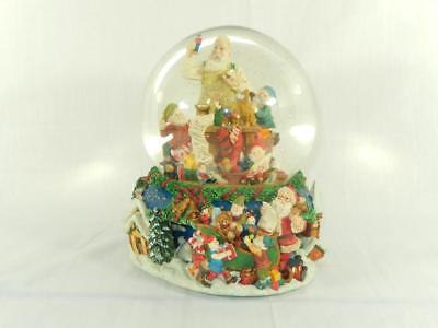 Kirkland Signature Santa Musical Water Globe, Animated, -