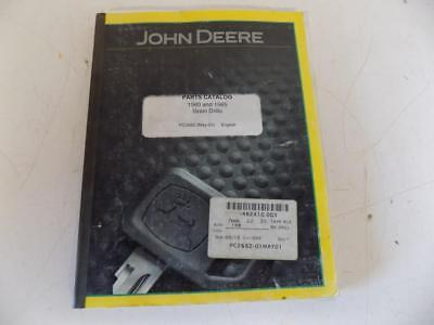 2001 John Deere 1560 1565 Grain Drill Parts Catalog Stock7543