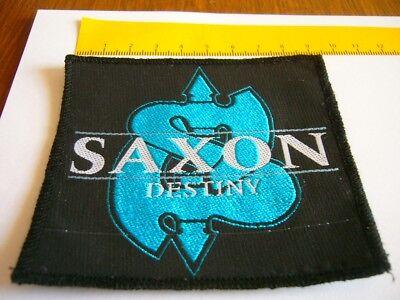 SAXON – very rare original DESTINY Patch!!!