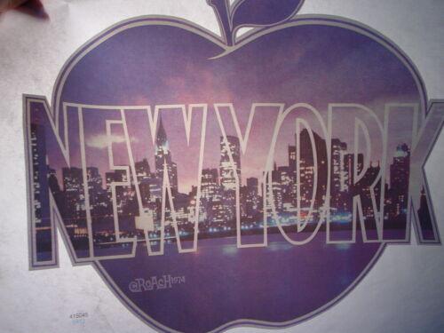 NEW YORK BIG APPLE 1970