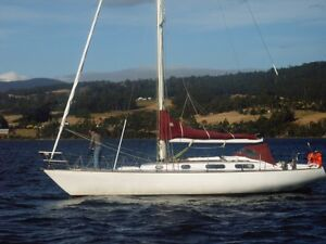 Comfortable, reliable cruiser and great racing yacht. Franklin Huon Valley Preview