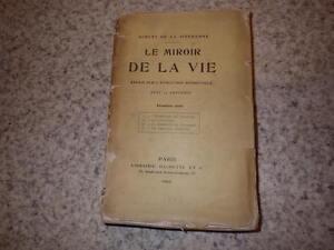 1902-Le-miroir-de-la-vie-1ere-serie-art-Robert-de-la-Sizeranne-envoi