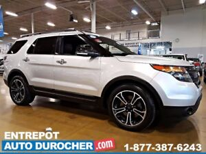 "2014 Ford Explorer TV 39"""" GRATUITE SPORT CUIR NAVIGATION FREE 3"