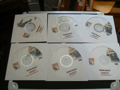Dynamic Fighting arts Shaolin Kung Fu level 1-6 on 6 DVDS
