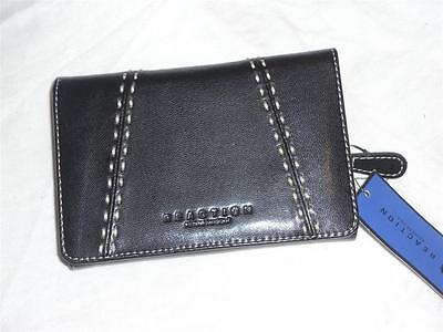 Kenneth Cole Reaction Credit Card Attache  Wallet Black