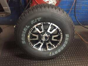 4 x New Alloys and All Terrain Tyres******2011 RANGER/BT 50 Osborne Park Stirling Area Preview