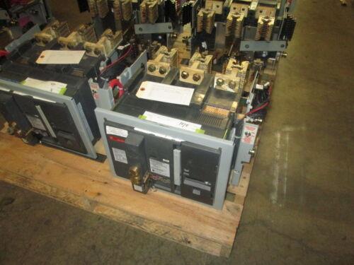 Ge Powerbreak Shd16b216 1600a 600v Eo/do Breaker W/ Lsi & Shunt Tripused E-ok