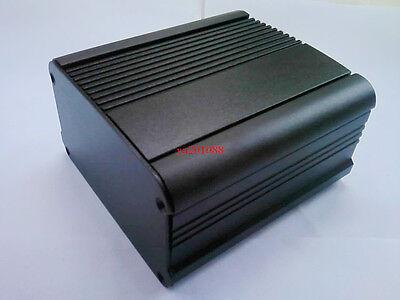 Black Aluminum Project Box Enclosure Case Electronic Diy 100x95x54mmlwh