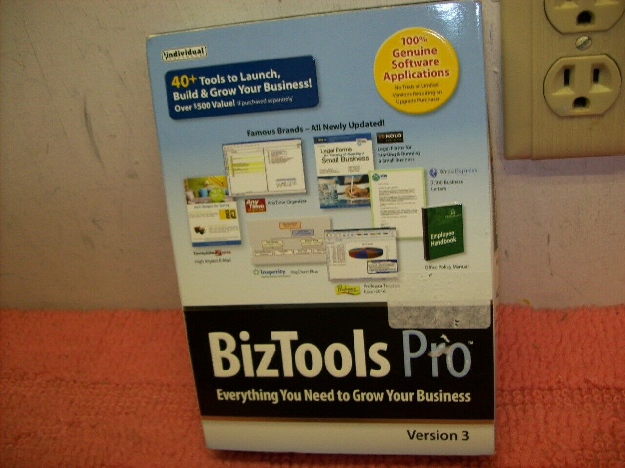 Individual Software BizTools Pro v3 (Retail) open, Free ship!