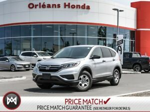 2015 Honda CR-V LX - BACK UP CAMERA,BLUETOOTH,HEATED SEATS LOW M