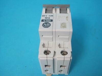 Allen Bradley 1492-CB2 Manual Motor Controller G100 10Amp 3HP 480y/277v 1PH USED comprar usado  Enviando para Brazil