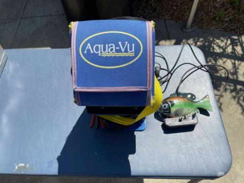 Aqua-Vu Underwater Camera Fishing Good Condition.