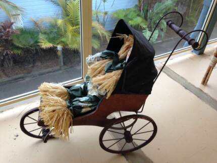 antique doll pram Soldiers Point Port Stephens Area Preview