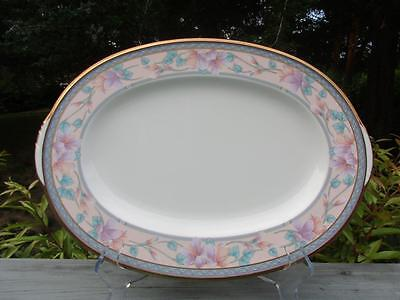 Noritake  Embassy Suite  Oval Serving Platter 14 5  X 10 5    Euc