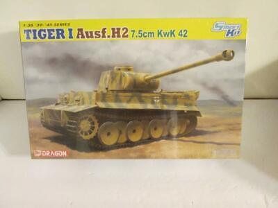 Dragon 1:35 #6683 Tiger I Ausf.H2 7.5cm KwK 42 Smart Kit '39-'45 Series  NIB for sale  Ravensdale