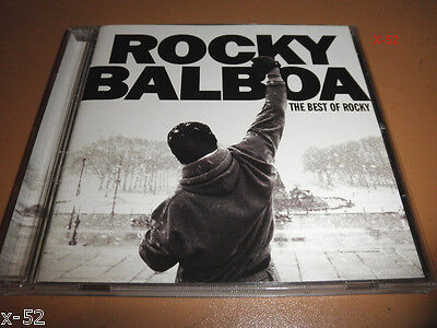 BEST of ROCKY cd EYE OF THE TIGER living in america BURNING HEART james
