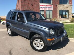 CLEAN 2002 JEEP LIBERTY LIMITED 4X4 CERTIFIED WARRANTY