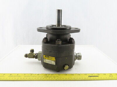 Parker M2b90658-10 High Speed Hydraulic Motor 78 Shaft 1-516 Ports