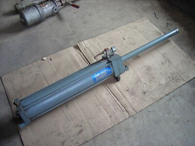 Miller Air Oil Cylinder Hydraulic Model A77-ba8 2000 Psi Oil 80 Psi Air