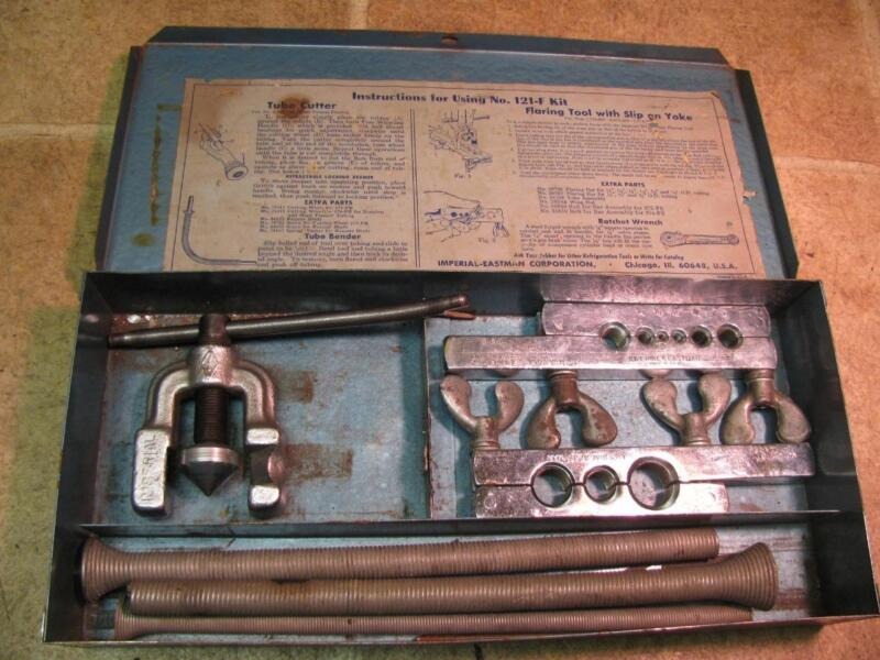 """Imperial Eastman 121F 1/8""""-3/4"""" 45 Degree Flaring Tool"""