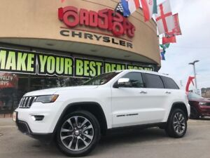 """2018 Jeep Grand Cherokee Limited PANO ROOF NAVI REAR CAM 20"""" WLS"""