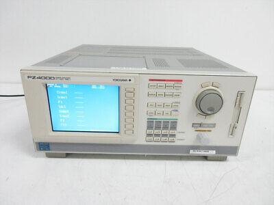 Yokogawa Pz4000 Power Analyzer Dc To 2 Mhz 4x 253751 Elements 253710 V 2.08