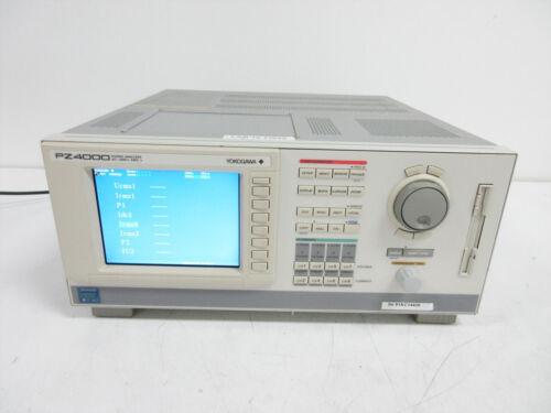 YOKOGAWA PZ4000 POWER ANALYZER DC TO 2 MHZ & 4X 253751 ELEMENTS ~ 253710 V 2.08