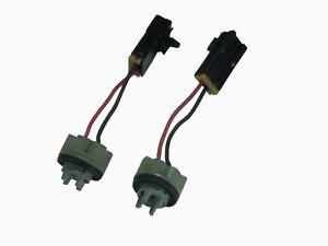 2X JDM TURN SIGNAL CORNER LIGHT BULB SOCKET PLUG AND PLAY FOR SILVIA S13 240SX