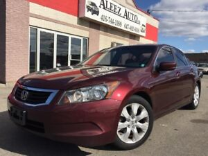 2008 Honda Accord EX-L, No accidents, sunroof,